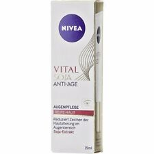 NIVEA Vital Soy Anti-Age  Eye Care 15 ml - For Mature Skin **NEW FROM GERMANY**
