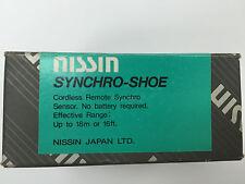 Nissin SYNCHRO SHOE cordless remote synchro