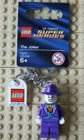 Lego DC Comics Super Heroes Keyring - The Joker - 851003 - New