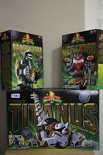 Mighty Morphin Power Rangers Legacy Ultrazord - Megazord, Dragonzord, Titanus