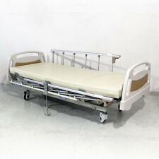 Electrical Crank Hospital Bed with PVC Foam Mattress
