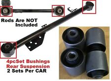 4pcSet Bushings fit for Nissan Pathfinder 1996 97 98 99 00 2001-2004 2Rear Links