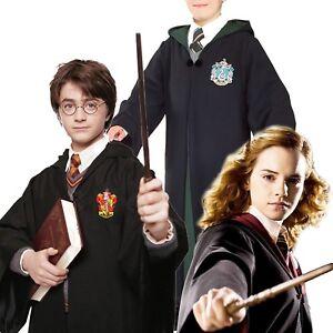 Mantello Harry Potter Cosplay Costume Carnevale con Sciarpa Cravatta