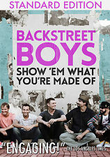 BACKSTREET BOYS New Sealed 2017 COMPLETE HISTORY, BIOGRAPHY & MORE DVD