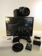 Nikon COOLPIX P900 Digitalkamera 83x Zoom