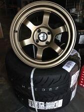 GENUINE AVID1 AV11 16x8 +15 +25 4x100/114.3 MX5 JDM wheels stance TE37 VOLK RAYS