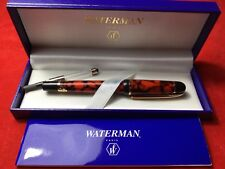 Waterman Phileas Fountain Pen Coral Red Marble Fine Med France