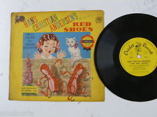 childrens 78rpm THE RED SHOES norman rose , CRICKET RECORDS C8