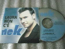 CD-NEK-LAURA NON C'E-ITALIA MUSIC-ROLANDO D'ANGELI_(CD SINGLE)-1997-2 TRACK