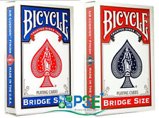 BICYCLE RIDER BACK BRIDGE SIZE PLAYING CARDS STANDARD INDEX 1 DECK MAGIC TRICKS
