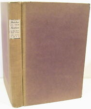 (California) Sketches of the Sixties by Bret Harte & Mark Twain    1927