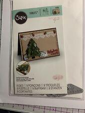 Sizzix 662281 Thinlits Die Set - Christmas Tree, Flip and Fold, 9Pk