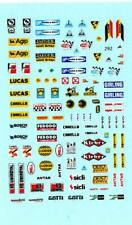 Decalbogen Sponsoren Rallye 60er-80er Jahre 1:43 (292)