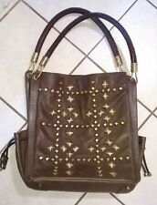 MICHAEL KORS-COUTURE-RUNWAY-ITALY-STUDDED High Fashion TOTE/PURSE-GORGEOUS!