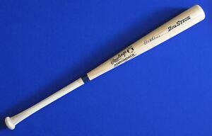"Al Kaline HOF Tigers Signed Auto 34"" Rawlings Adirondack Big Stick Baseball Bat"