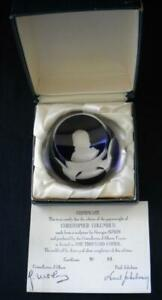 Christopher Columbus Paperweight Vintage