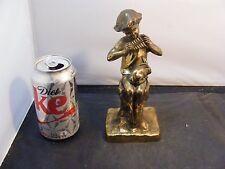 Antique  Statue Figurine Boy metal statues
