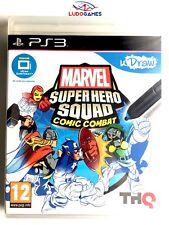 Marvel Super Hero Squad Comic Combat PAL/SPA PS3 Nuevo Precintado Sealed Retro