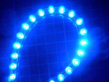 Super Bright 24cm Blue LED Strip/Stripe Car Neon Light