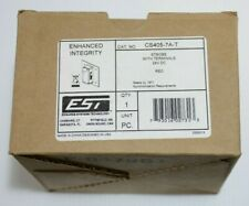 Edwards EST CS405-7A-T Strobe with Terminals 24v - Red Fire Alarm
