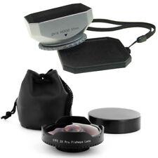 37mm 0.3x Wide Angle Fisheye Lens + Hood for Sony Handycam HDR CX12,CX7,HC5,HC7