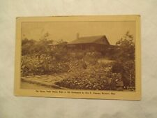 Massachusetts Postcard Paper House Made Newspapers By Steaman Rockport Ma