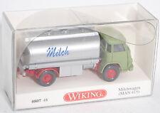 Wiking 080748 MAN 415 (Kleine Pausbacke) Milchwagen 1:87