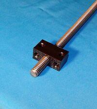 3/8-12 ACME DELRIN NUT BLOCK RH for acme threaded rod one start CNC 3d printer
