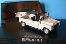 RENAULT RODEO 4 BLANCHE WHITE NOREV 7711424944 1/43 + CAPOTE NEW WEISS