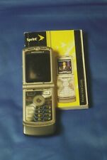 Sprint Motorola MotoRazr V3M Flip Cellular Phone
