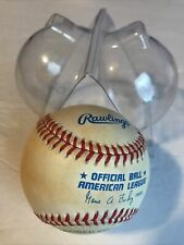 Rawlings Official MLB American League Baseball GENE BUDIG PRESIDENT 1990's