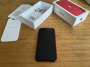 APPLE IPHONE 11 64GB Product RED, Unlocked, 5 months old, Apple Warranty