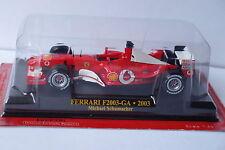 FABBRI FERRARI F2003-GA  2003 MICHAEL SCHUMACHER