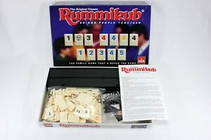 RUMMIKUB Original Classic Family Board Game 2-4 Players Ages 8-Adult Goliath VGC