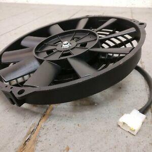 Jeep Wrangler 9 inch hi-performance cooling fan radiator push pull