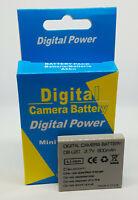 2 x cámara batería batería 1600mAh para SANYO Xacti VPC-FH1 DB-L50