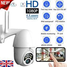More details for 1080p wifi ip camera ip66 wireless cctv ptz hd outdoor home security ir cam v380
