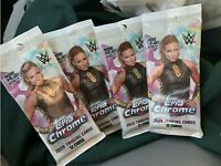 2020 Topps Chrome WWE Cello Pack. Lot Of 4! 12 Cards Per Pack.  🔥 Price