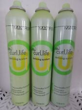3 Matrix Curl Life Defining System EVERY WEATHER HAIRSPRAY 10 oz Each