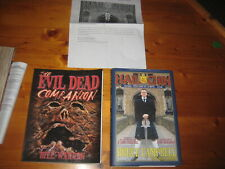 Signed Hail to the Chin/ Evil dead companion book, Bruce Campbell