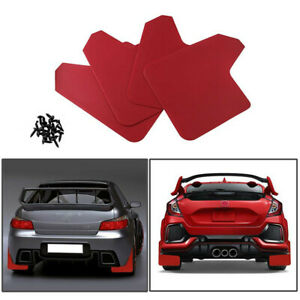 4pc Moulded Universal Fit Mud Flaps Mudflaps Front or Rear For Car Pickup SUV