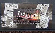 Bulgaria 2012 100th Anniversary of Titanic Miniature sheet MNH