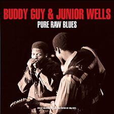 BUDDY & WELLS,JUNIOR GUY - PURE RAW BLUES 2 VINYL LP NEU