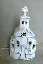 Pottery Mission Style Church Candle Holder. GC