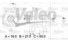 VALEO Alternador 80A Para CITROEN ZX XANTIA JUMPER PEUGEOT 405 EXPERT 436346