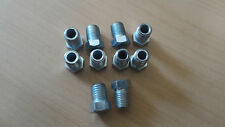 "BRAKE PIPE ENDS 3/8"" x 24 UNF SHORT  THREAD MALE OLD USA VEHICLES 10 PACK"
