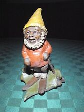 TOM CLARK SIGNED GNOME WOODSPIRIT VINTAGE CHASE ED #? 1981 COA