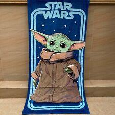 star wars Master Yoda towel Blanket nap quilt bath towels 140x70Cm cartoon gift