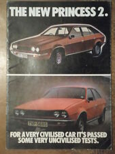 PRINCESS 2 RANGE orig 1978 UK Mkt Sales Brochure - 1700 2200 Austin Morris BL