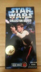 Star wars collector series han solo figure